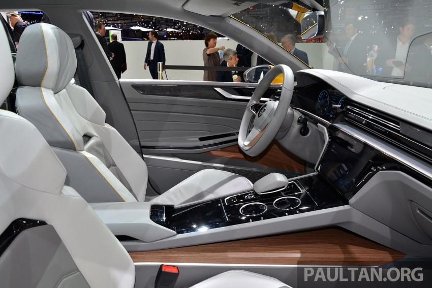 GALLERY: Volkswagen Sport Coupe Concept GTE Image #316523