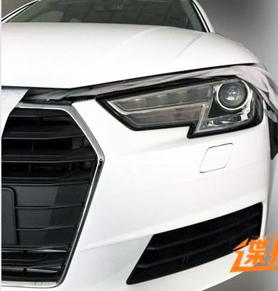 Audi A4 B9 leaked undisguised, including interior Image #322872