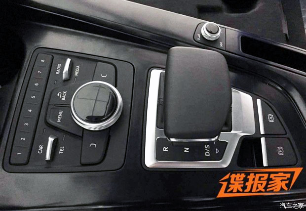 Audi A4 B9 leaked undisguised, including interior Image #322874