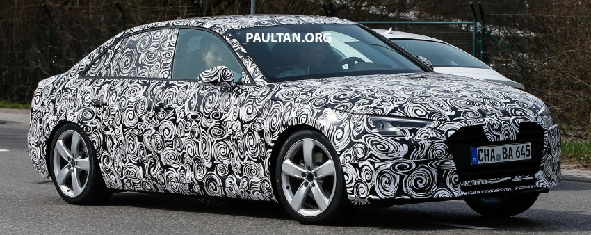 Audi A4 B9 leaked undisguised, including interior Image #322878