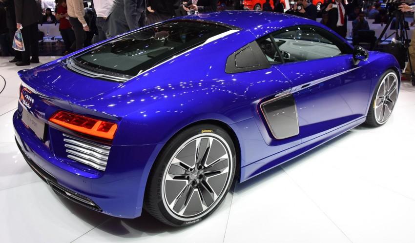 GALLERY: 2016 Audi R8 5.2 FSI V10 and R8 e-tron Image #316309