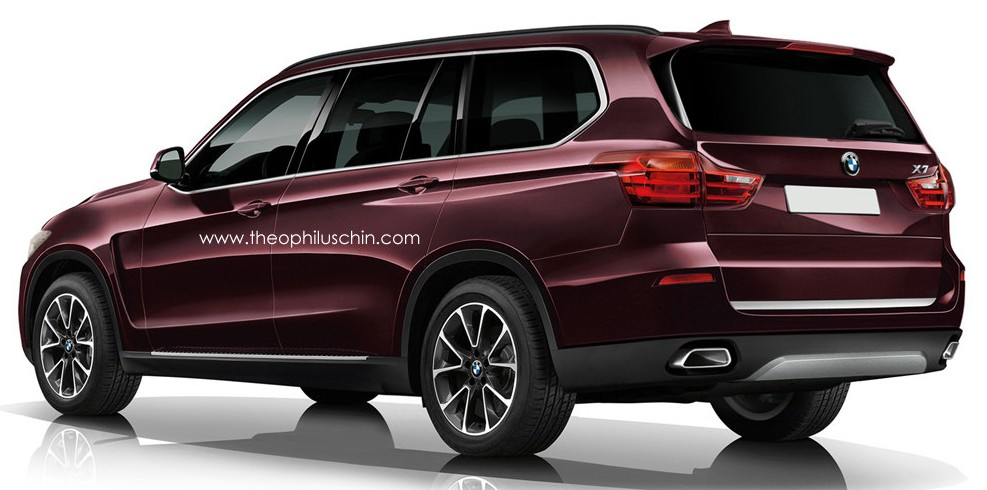 Bmw X7 To Debut In 2017 6 0 Litre V12 Circa 130 000