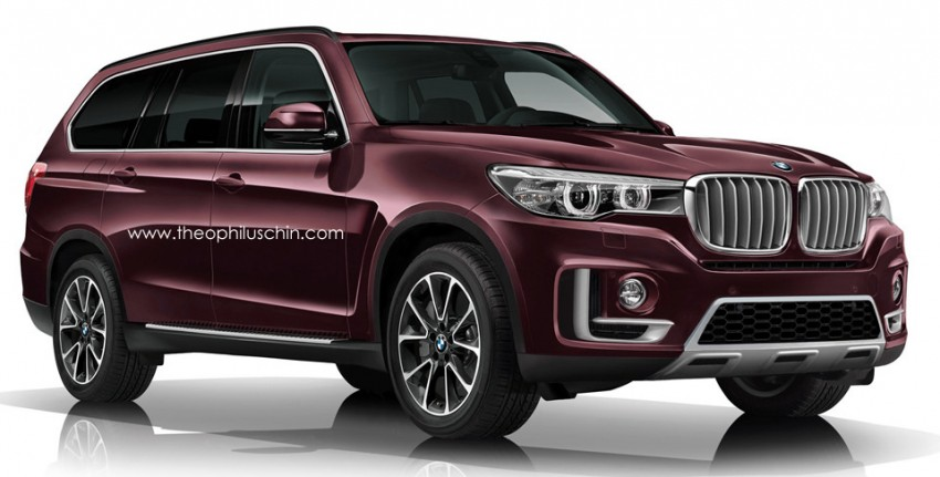 BMW X7 to debut in 2017 – 6.0 litre V12, circa €130,000 Image #320067