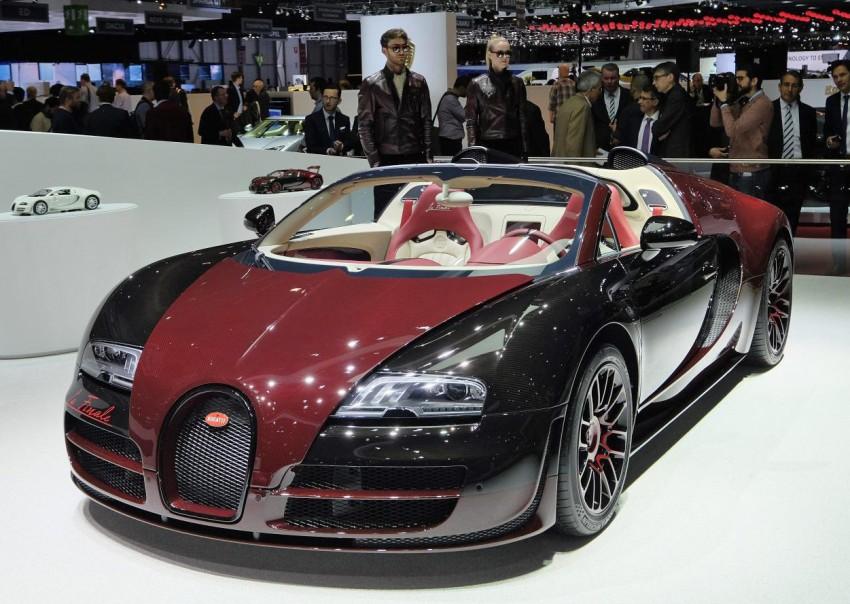 """Bugatti Veyron 16.4 Grand Sport Vitesse """"La Finale"""" – the 450th and last Veyron signs off in Geneva Image #316285"""