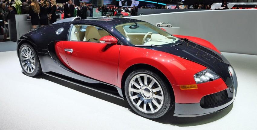 """Bugatti Veyron 16.4 Grand Sport Vitesse """"La Finale"""" – the 450th and last Veyron signs off in Geneva Image #316294"""