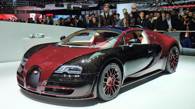 the last bugatti veyron la finale bids goodbye in geneva. Black Bedroom Furniture Sets. Home Design Ideas