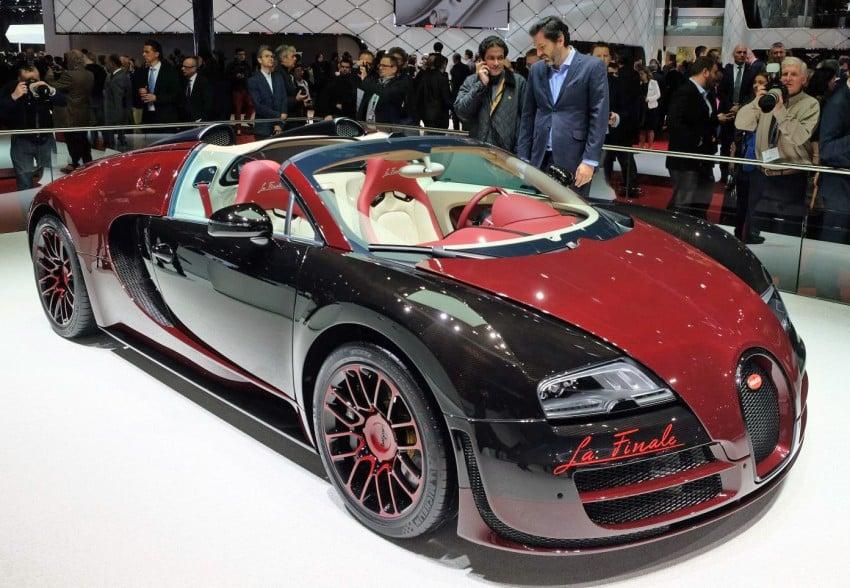 """Bugatti Veyron 16.4 Grand Sport Vitesse """"La Finale"""" – the 450th and last Veyron signs off in Geneva Image #316289"""