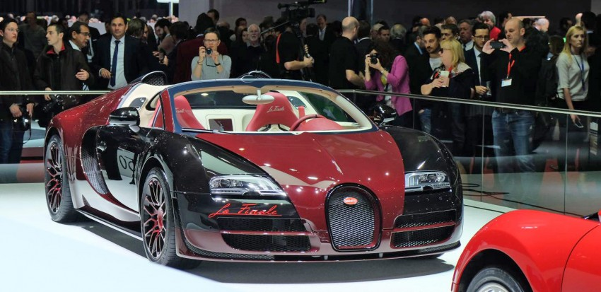 "Bugatti Veyron 16.4 Grand Sport Vitesse ""La Finale"" – the 450th and last Veyron signs off in Geneva Image #316290"