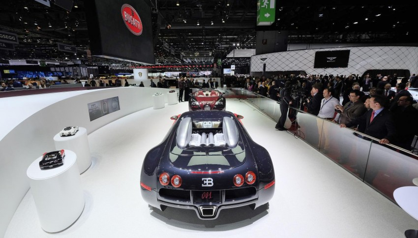 "Bugatti Veyron 16.4 Grand Sport Vitesse ""La Finale"" – the 450th and last Veyron signs off in Geneva Image #316292"