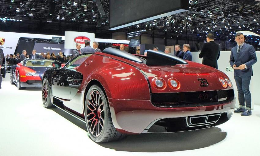 """Bugatti Veyron 16.4 Grand Sport Vitesse """"La Finale"""" – the 450th and last Veyron signs off in Geneva Image #316293"""