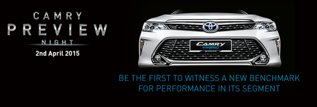 camry launch invite