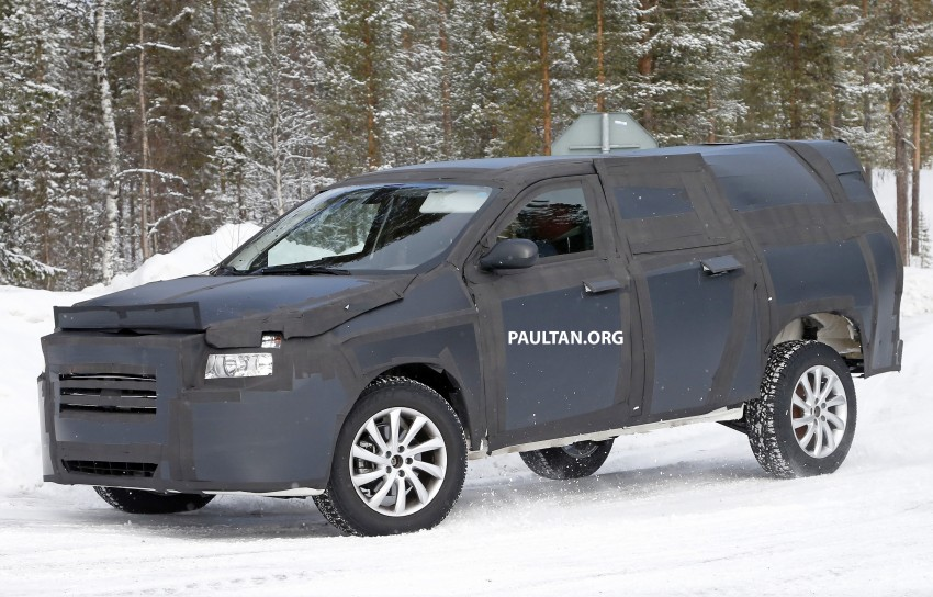 Spied 2016 Fiat Pick Up Truck To Rival Toyota Hilux Image