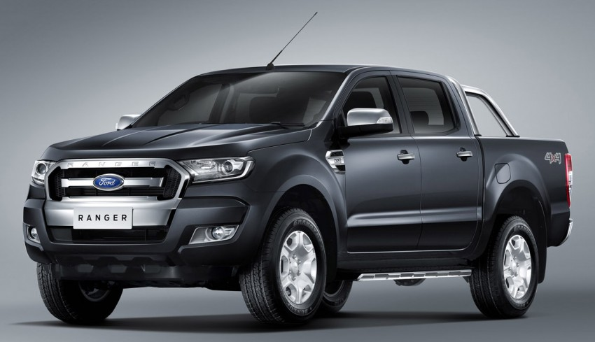 2015 Ford Ranger makes world debut in Thailand Image #320464