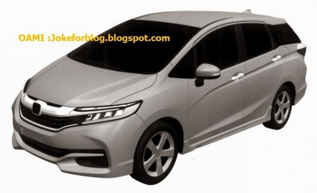 next generation honda jazz shuttle leaked online. Black Bedroom Furniture Sets. Home Design Ideas