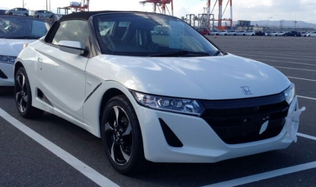 Honda S660 Kei Roadster Spied In Production Guise
