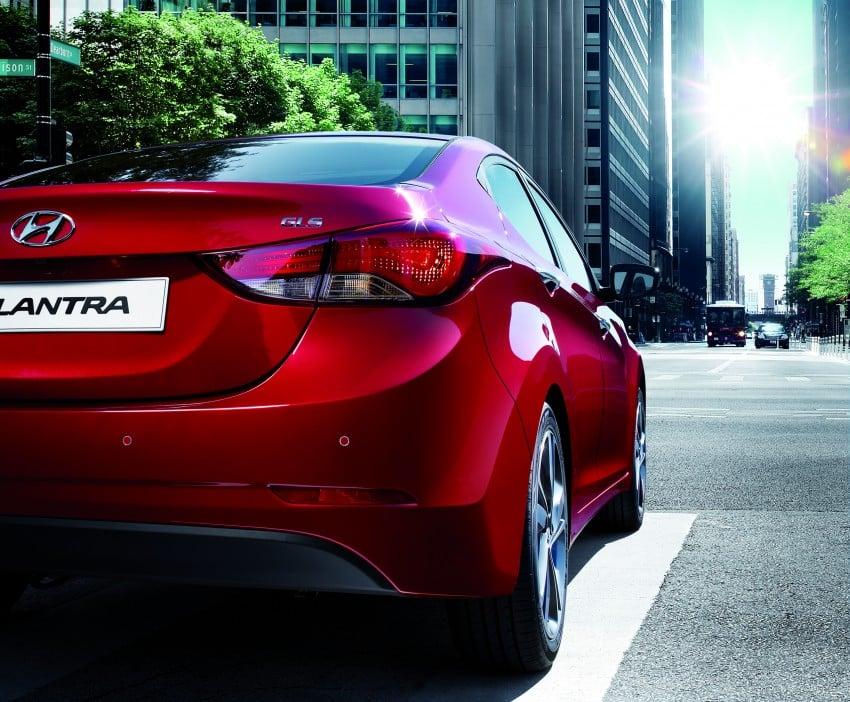 Hyundai Elantra facelift launched in M'sia, RM86k-115k Image #316768