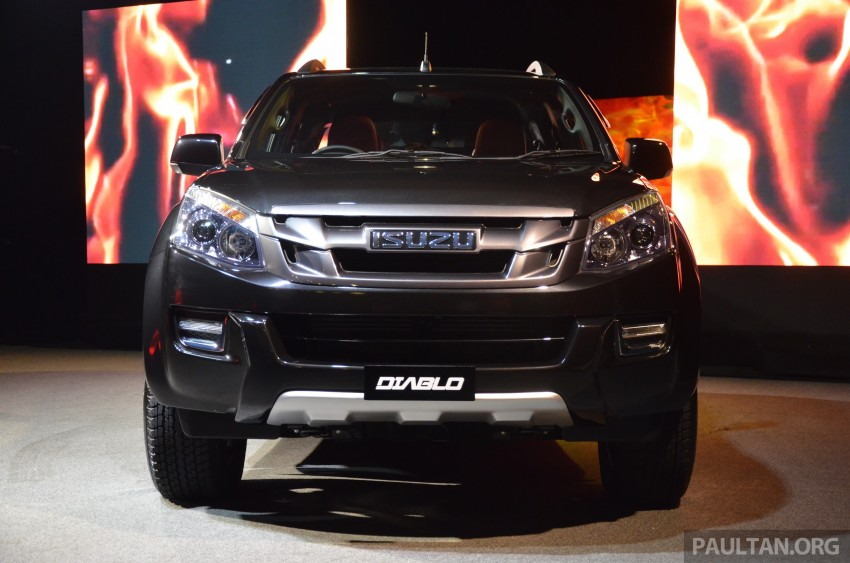 Isuzu D-Max Diablo launched, priced from RM107,077 Image #318426