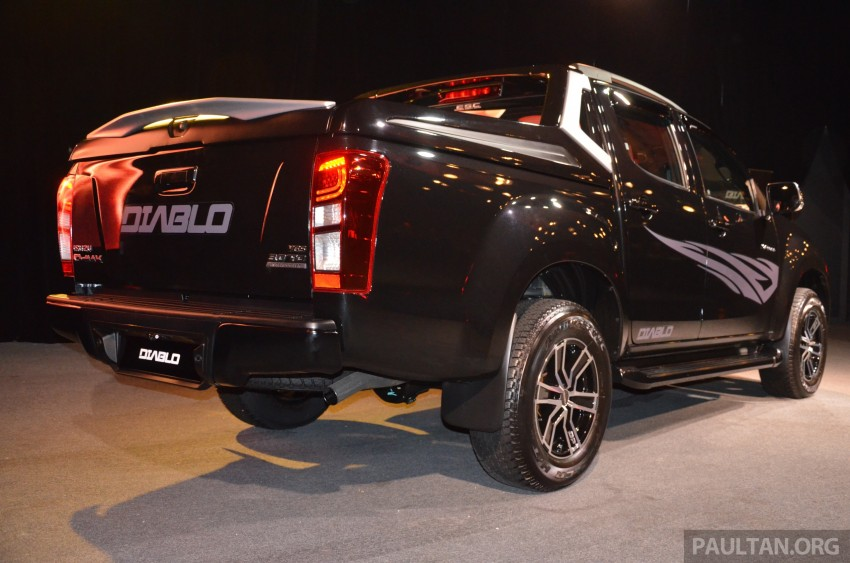 Isuzu D-Max Diablo launched, priced from RM107,077 Image #318441