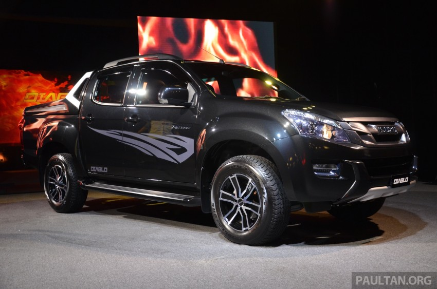 Isuzu D-Max Diablo launched, priced from RM107,077 Image #318442
