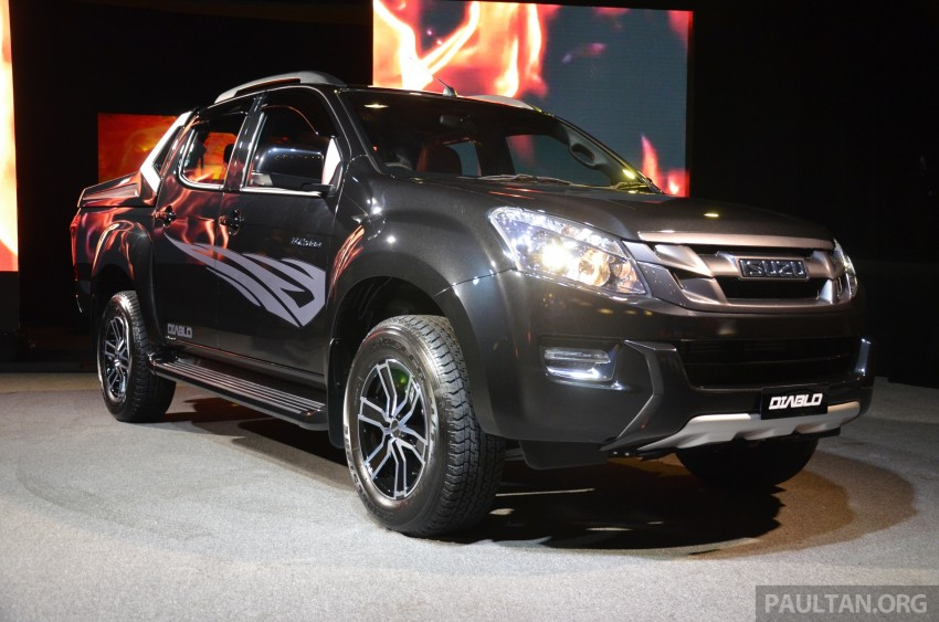 Isuzu D-Max Diablo launched, priced from RM107,077 Image #318443