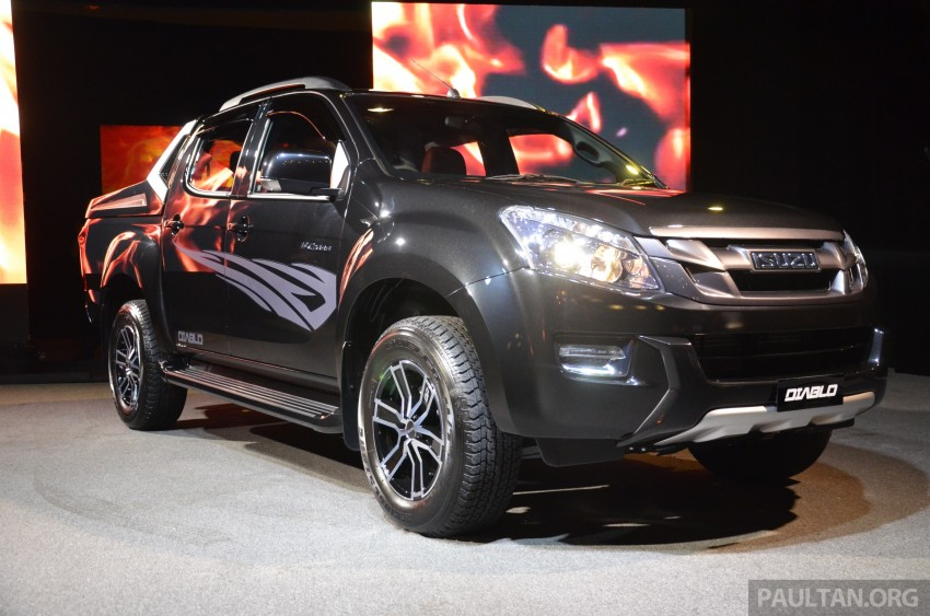 Isuzu D-Max Diablo launched, priced from RM107,077 Image #318444