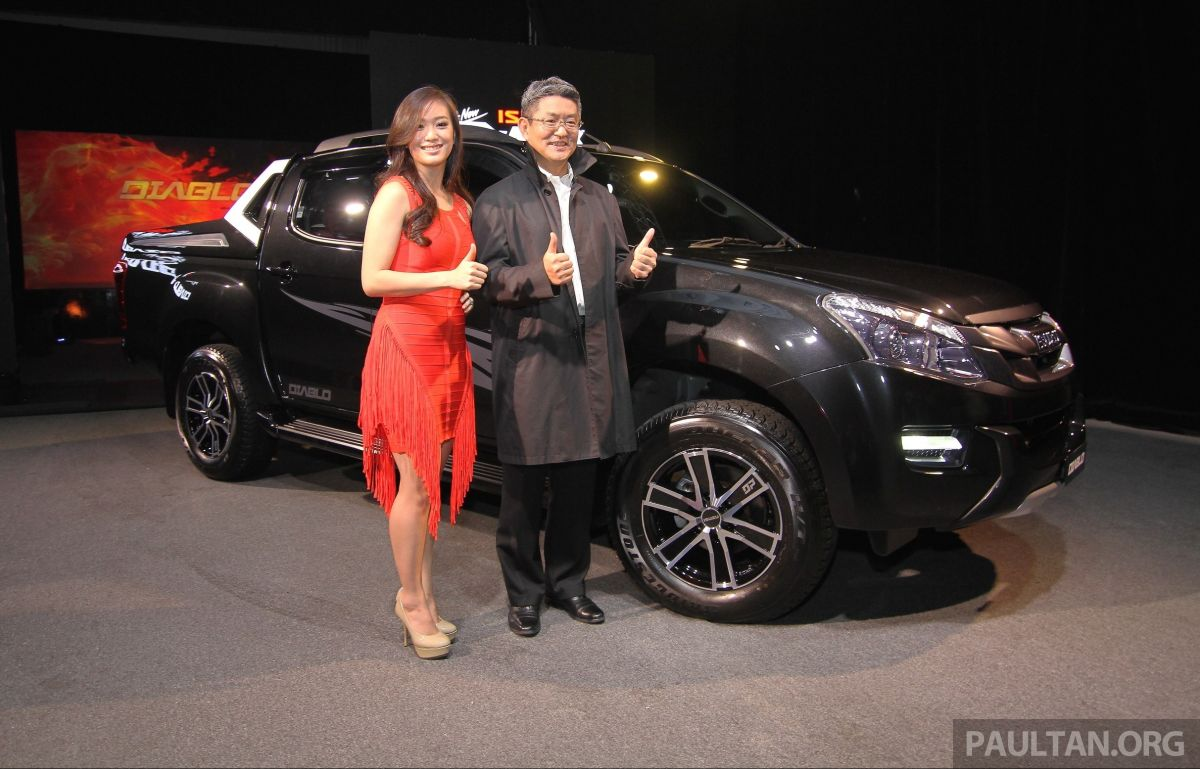 Isuzu D-Max Diablo launched, priced from RM107,077