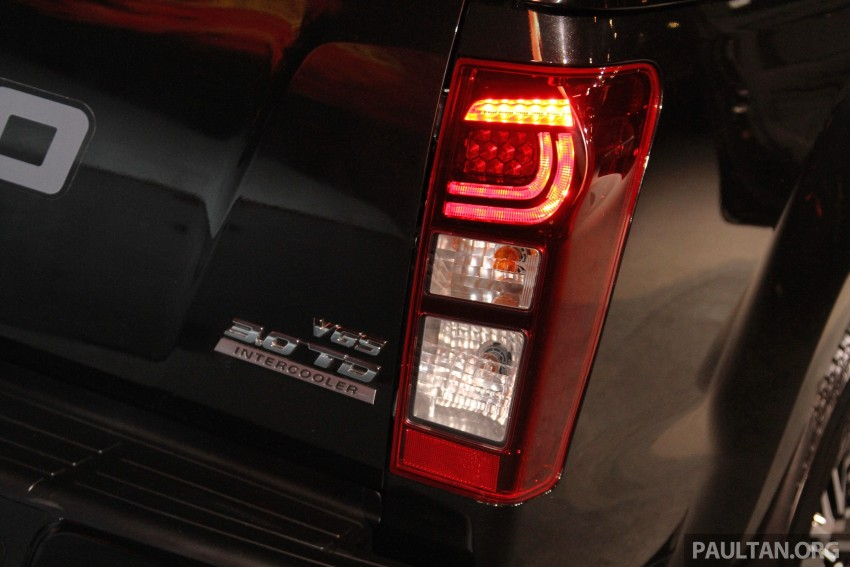 Isuzu D-Max Diablo launched, priced from RM107,077 Image #318466