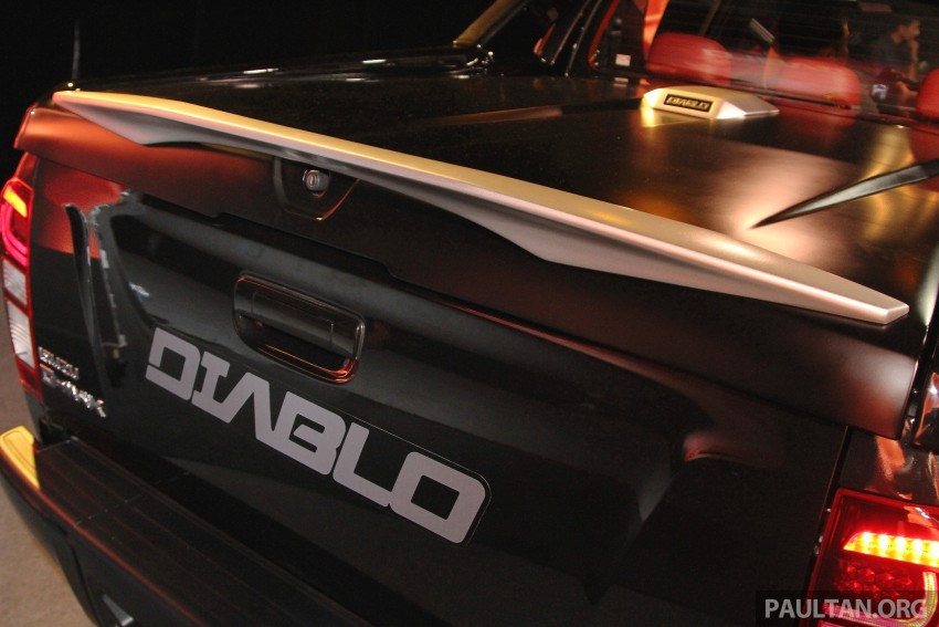 Isuzu D-Max Diablo launched, priced from RM107,077 Image #318468