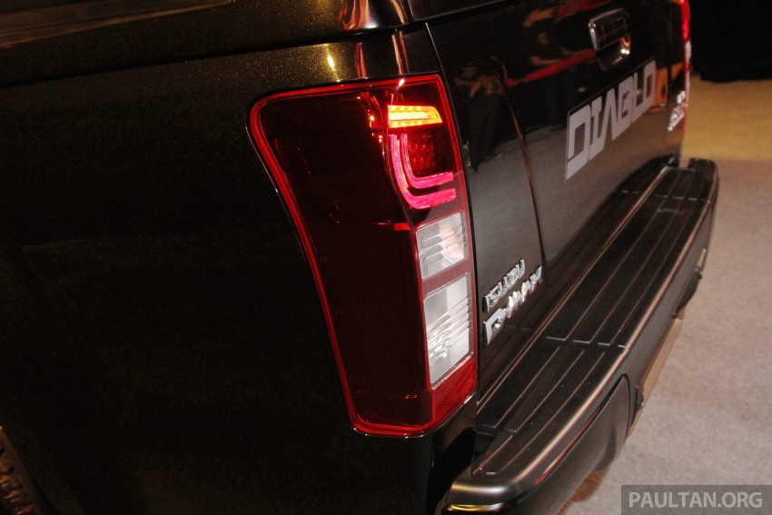 Isuzu D-Max Diablo launched, priced from RM107,077 Image #318470