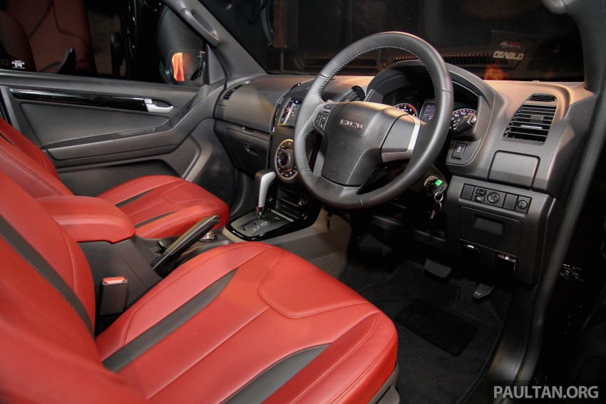 Isuzu D-Max Diablo launched, priced from RM107,077 Image #318447