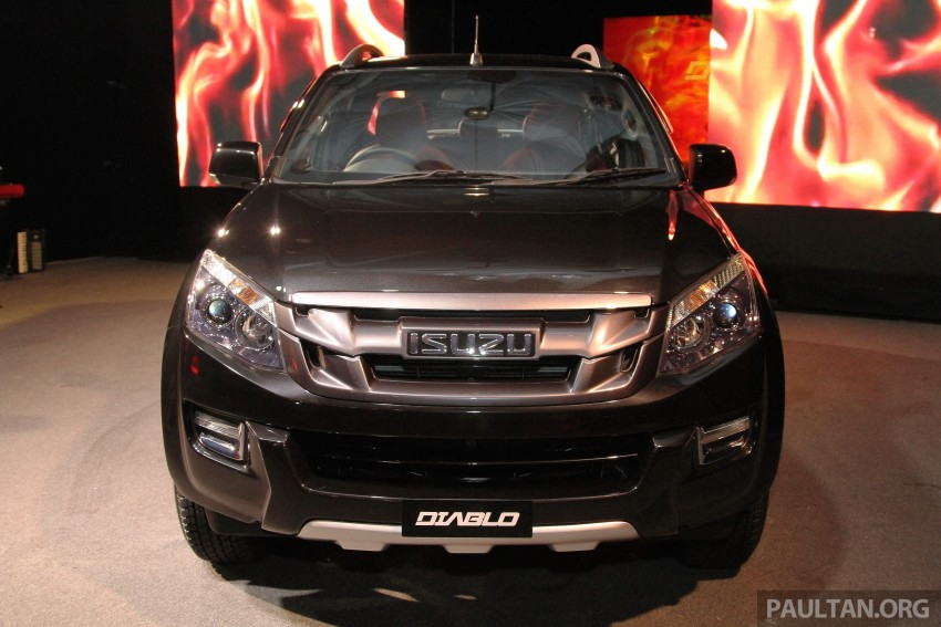 Isuzu D-Max Diablo launched, priced from RM107,077 Image #318501