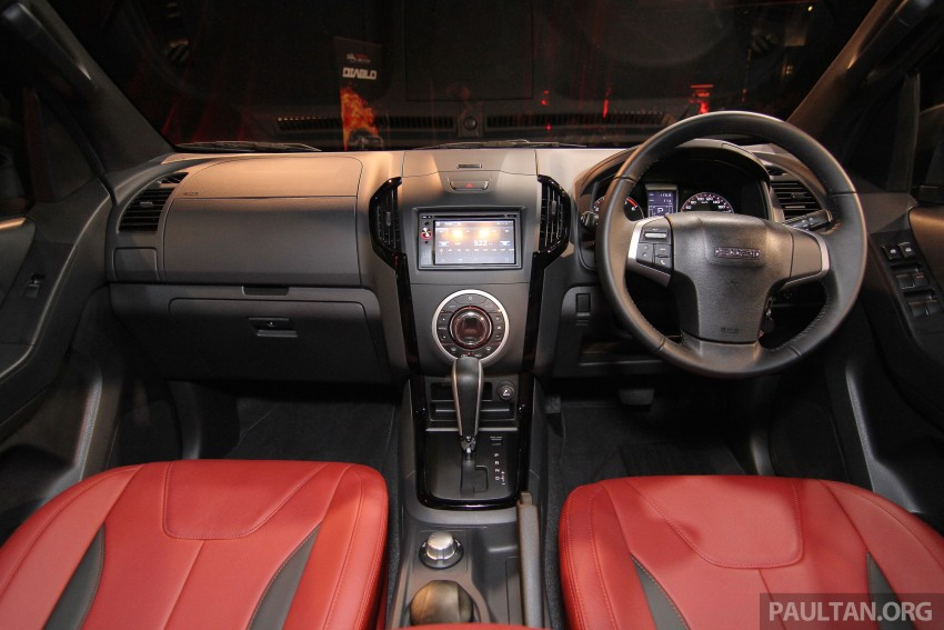 Isuzu D-Max Diablo launched, priced from RM107,077 Image #318449