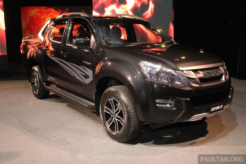 Isuzu D-Max Diablo launched, priced from RM107,077 Image #318502
