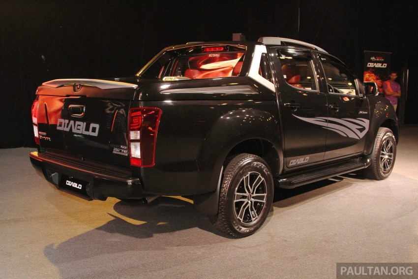 Isuzu D-Max Diablo launched, priced from RM107,077 Image #318504