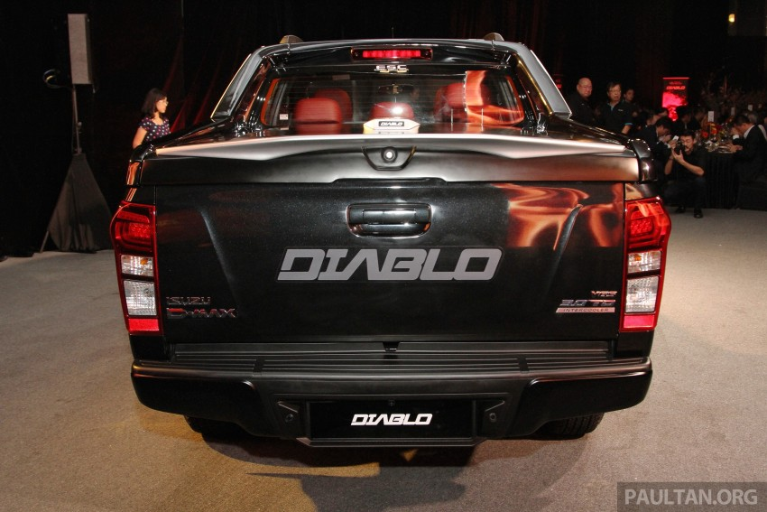 Isuzu D-Max Diablo launched, priced from RM107,077 Image #318505