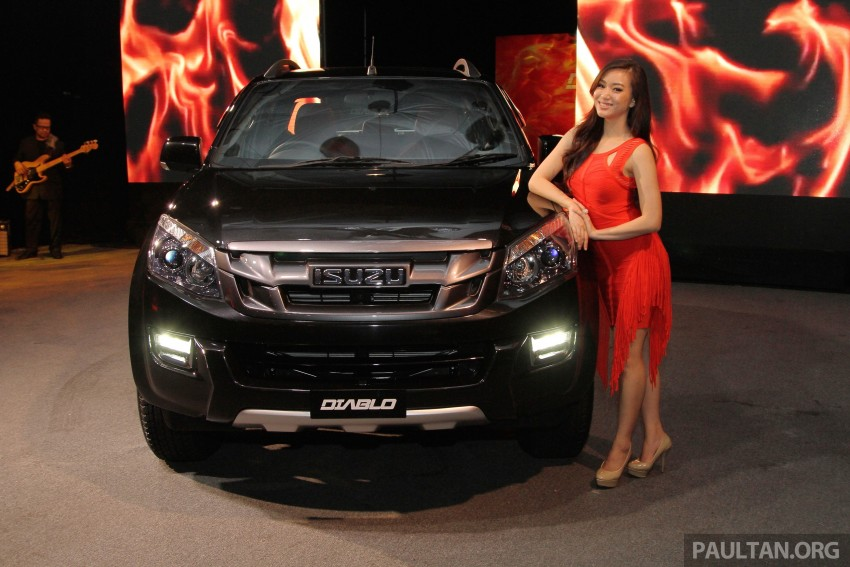 Isuzu D-Max Diablo launched, priced from RM107,077 Image #318509