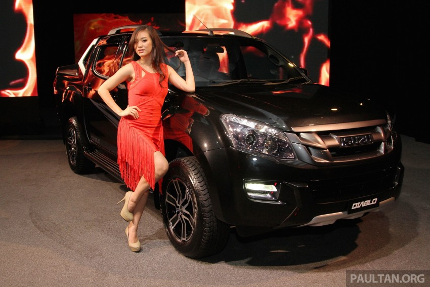Isuzu D-Max Diablo launched, priced from RM107,077 Image #318511
