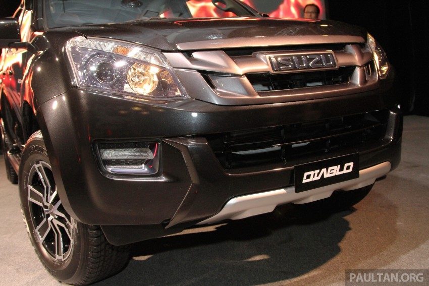 Isuzu D-Max Diablo launched, priced from RM107,077 Image #318450