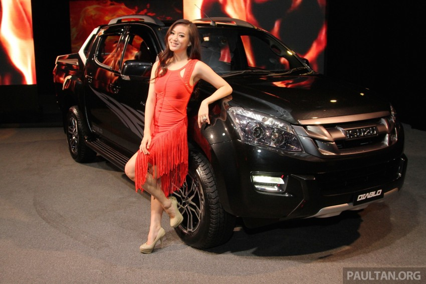 Isuzu D-Max Diablo launched, priced from RM107,077 Image #318513