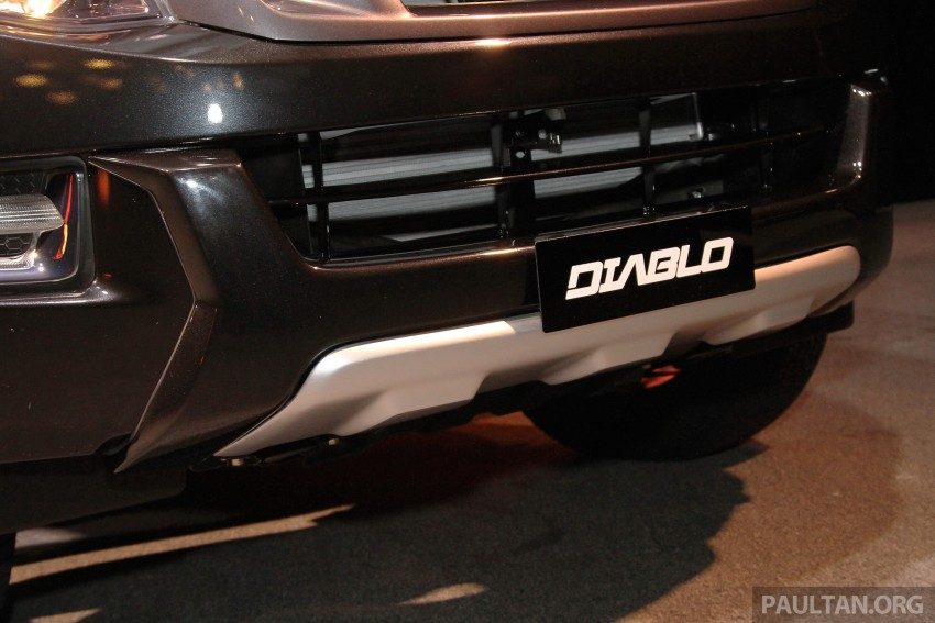 Isuzu D-Max Diablo launched, priced from RM107,077 Image #318451
