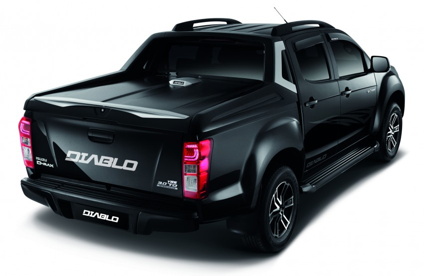 isuzu d max diablo launched priced from rm107 077 image 318244. Black Bedroom Furniture Sets. Home Design Ideas