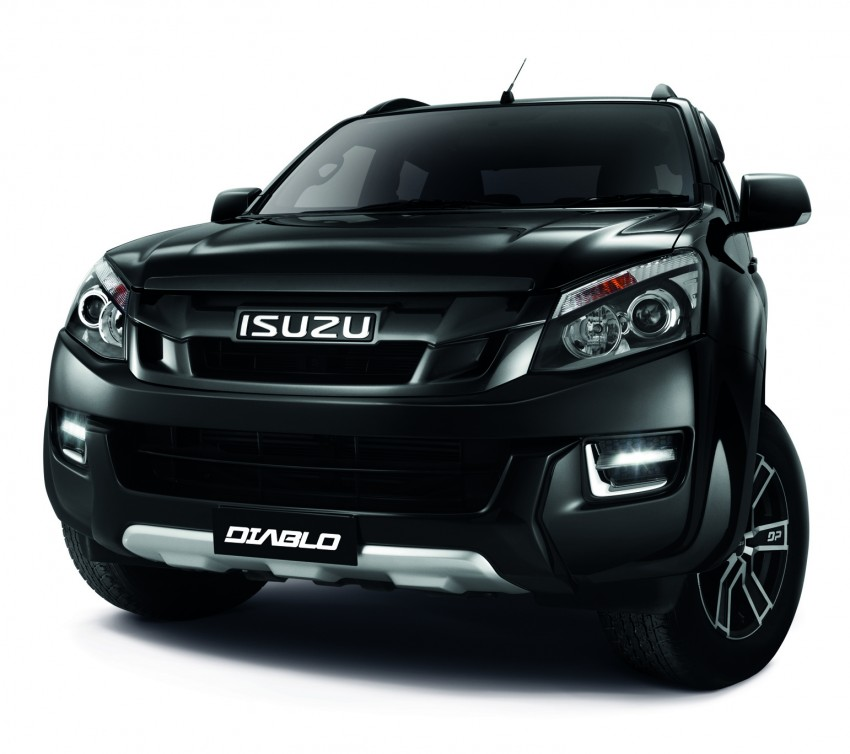 Isuzu D-Max Diablo launched, priced from RM107,077 Image #318393