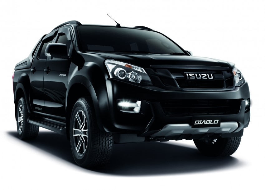 Isuzu D-Max Diablo launched, priced from RM107,077 Image #318394