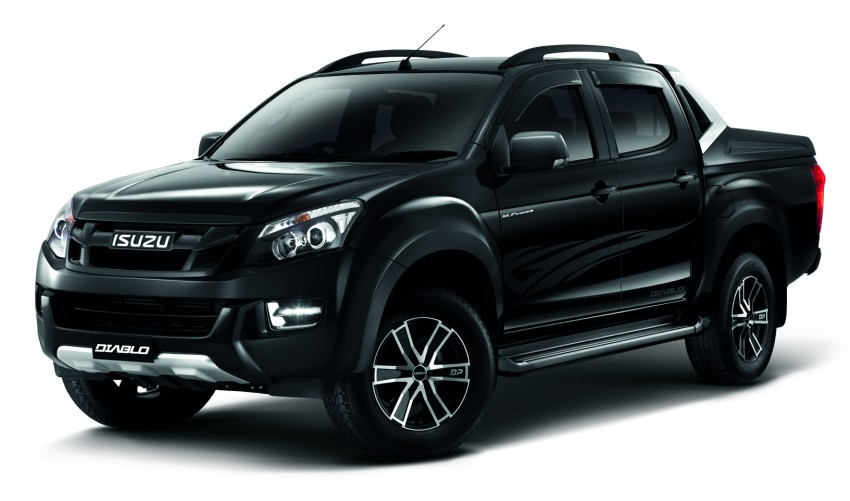 Isuzu D-Max Diablo launched, priced from RM107,077 Image #318246
