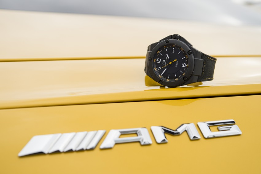 IWC Ingenieur Automatic 'AMG GT' edition marks a decade's partnership with Mercedes-AMG; 25 pcs only Image #320841