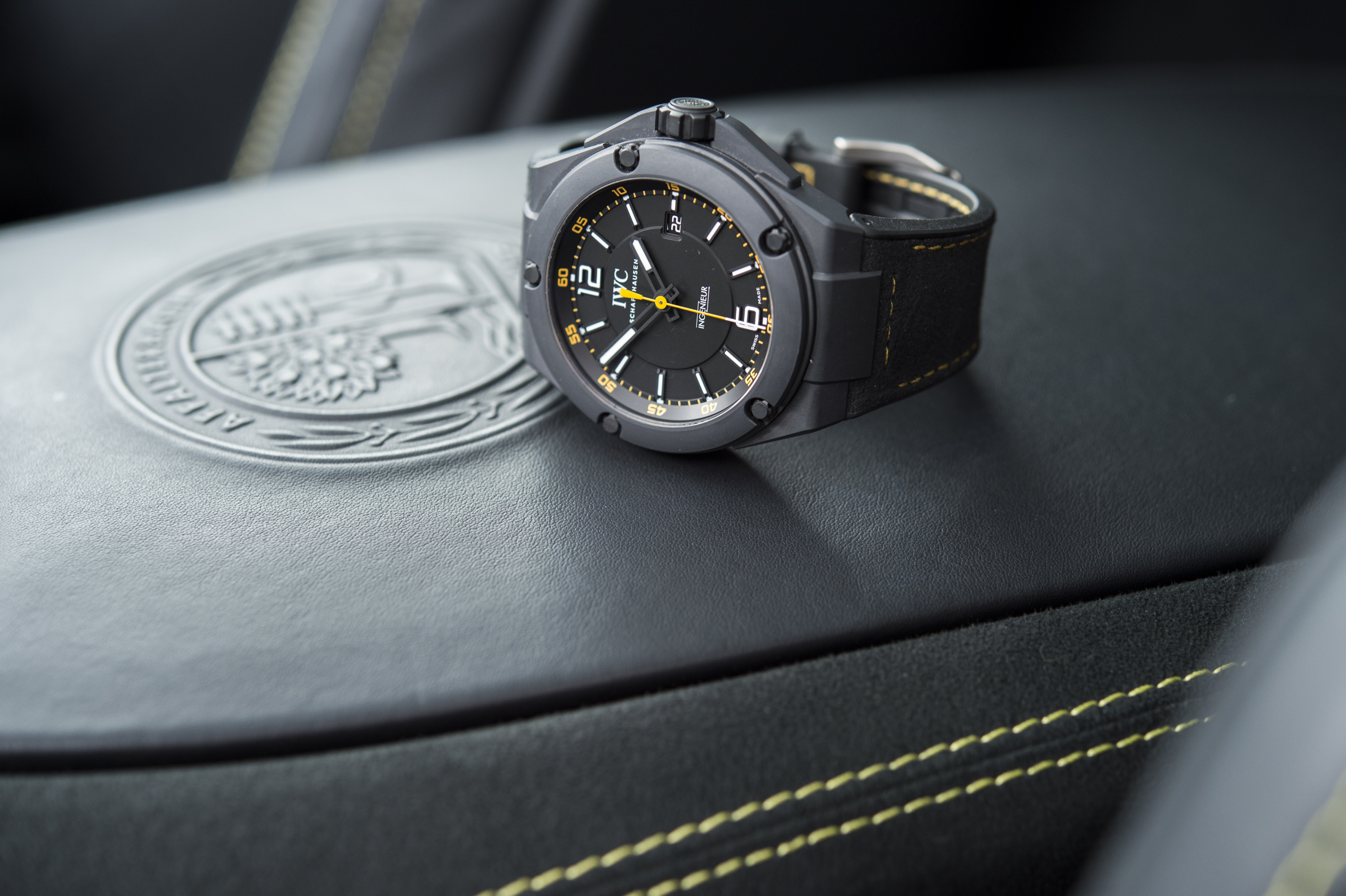 iwc ingenieur automatic 39 amg gt 39 edition unveiled. Black Bedroom Furniture Sets. Home Design Ideas