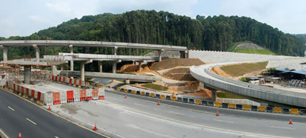 Construction of toll-free Pan Borneo Highway begins Image #323013