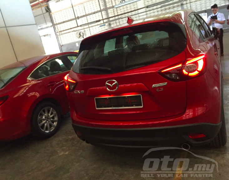 Mazda CX-5 facelift – ads appear on oto.my, RM172k Image #317588