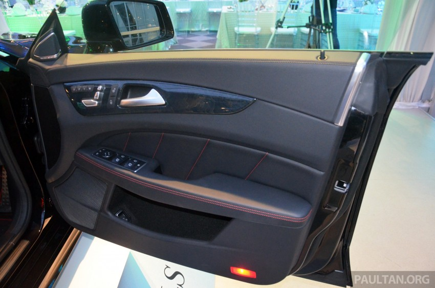 Mercedes-Benz CLS 400 facelift previewed in Malaysia Image #321391