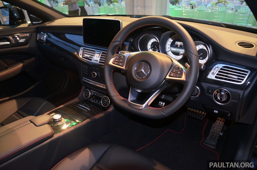 Mercedes-Benz CLS 400 facelift previewed in Malaysia Image #321392